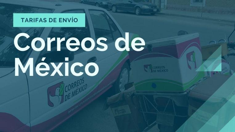 tarifas de envio correos de mexico