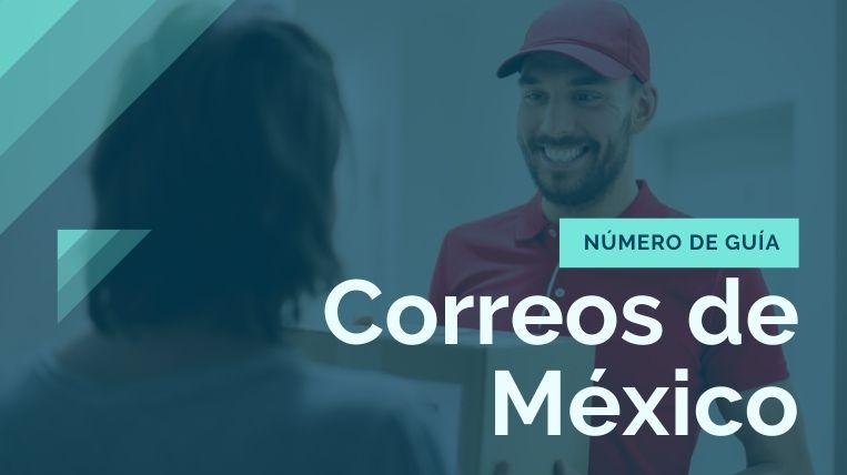 como identificar el numero de guia de correos de mexico