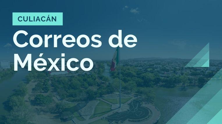 donde queda la sucursal de correos de mexico en culiacan