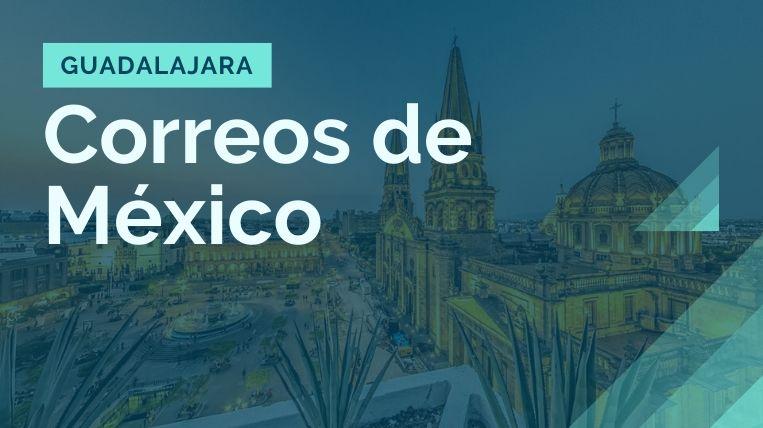donde queda la sucursal de correos de mexico en guadalajara