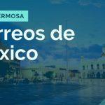 donde queda la sucursal de correos de mexico en villahermosa