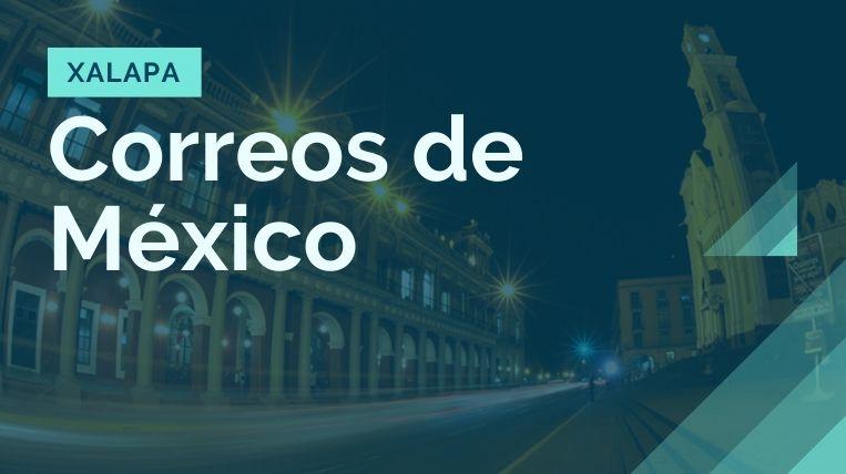 donde queda la sucursal de correos de mexico en xalapa